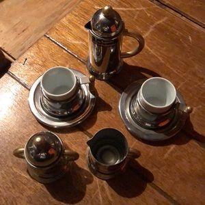 7 piece INOXPRAN espresso set